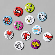 keith haring buttons 0 100