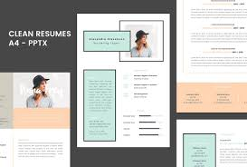 powerpoint resume template resume 1 0 a4 powerpoint format resume templates creative market