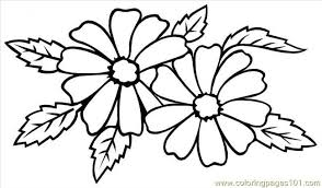 wedding flowers drawing types of wedding flowers coloring page free flowers coloring