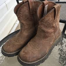 womens ariat fatbaby boots size 11 70 ariat shoes ariat fatbaby boots from s