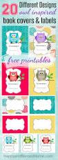 free scholastic books free owl book labels and smores granola bar