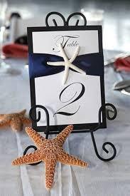 Wedding Table Number Ideas 48 Creative Beach Wedding Table Numbers Happywedd Com