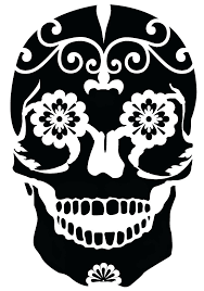 4 best images of free printable skull airbrush stencils airbrush