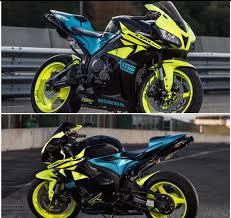 honda cbr 600 2012 2009 2012 honda cbr 600rr neon green blue fairings