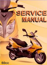 chinese scooter 50cc gy6 service repair shop manual on cd jonway