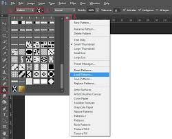 pattern from image photoshop how to install patterns in photoshop graphicadi