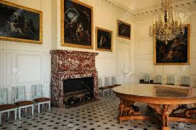 le petit trianon floor plans versailles a dining room in le grand trianon stock photo picture