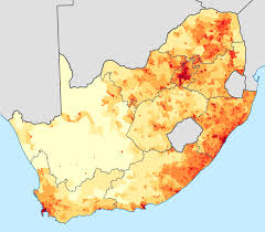 South Africa Maps by File South Africa 2011 Population Density Map Svg Wikimedia Commons