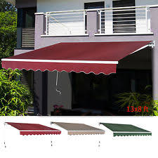 Outdoor Patio Awnings Retractable Awnings U0026 Canopies Ebay