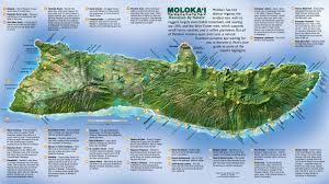 hitheater map molokai tourist map molokai hawaii mappery