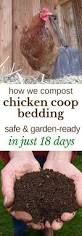 how to compost chicken manure in 18 days permaculture
