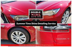 lexus interior detailing summer time shine red tesla 2 jpg