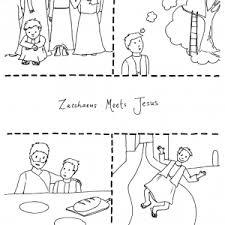 zacchaeus flip chart ebibleteacher zacoutline