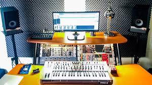 studio rack desk studio showcase musicradar