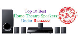 best home theater sound system top 10 best home theater speakers under rs 10000 india june 2017
