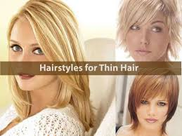 hairstyles for fine thin hair hairstyle for women