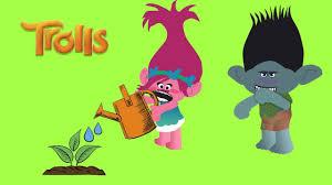 trolls poppy trolls branch cartoon for kids animation movies