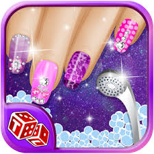 nail art salon u2013 girls game android apps on google play