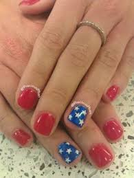 pedicure colors to the stars fourth of july nail art nail manicure star and manicure