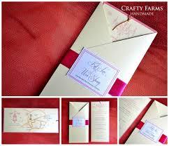 wedding card malaysia crafty farms handmade pink vintage
