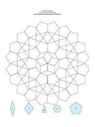 7 inch hexagon pattern use the printable outline for crafts