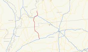Road Map Of Tennessee by U S Route 641 Wikipedia