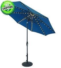 offset patio umbrella with led lights idea led patio umbrella for outdoor umbrella light lights outdoor