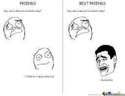 Best Friend Meme Funny - fridns vs best friends by oppacenkestyle meme center
