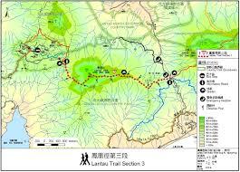 Phoenix Mountain Preserve Map by Lantau Peak Routes Transportation Photos 鳳凰山 The Hong
