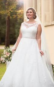 wedding dresses for curvy brides classic curvy sheer sleeves and just a hint of