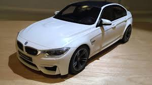 bmw m3 miniature unboxing 1 18 bmw m3 sedan f80 by gt spirit