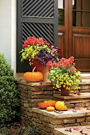 Creative Containers For Gardening Decoration Fall Window Box Displays Small Flower Box Fall Garden