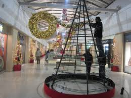 christmas decorations west mall this is trinidad