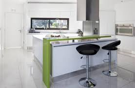 white kitchens modern modern white kitchen design with green surface bars idea how to