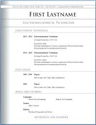 resume format download in word resume format free download in ms word yralaska com