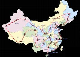 Map Of China Provinces by The Trip The Great Ride Of China