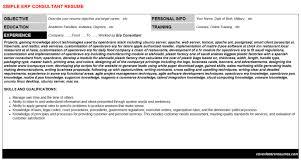 erp consultant cover letter u0026 resume
