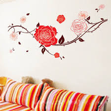 red roses wall sticker wallstickerscool com au wall decals red roses wall sticker