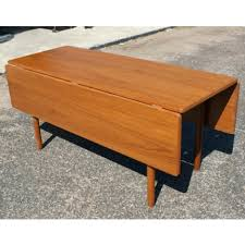 solid teak dining room furniture table danish modern style from