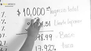 como calcular el sueldo neto mexico 2016 cómo calcular el isr youtube