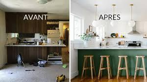 cuisine avant apr鑚 amenagement de cuisine ouverte 5 avant apr232s redonner du style
