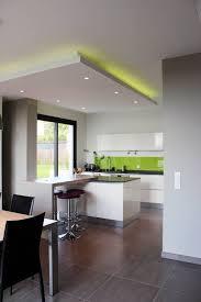 eclairage plafond cuisine led eclairage led pour plafond cuisine cuisine idées de décoration