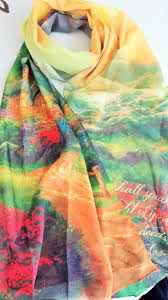 christian scarf i will declare your greatness kinkade