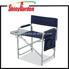 Directors Folding Chair Folding Aluminium Director Chair With Side Table Folding