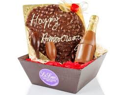 li a le occasion special occasion chocolate gift basket personalized message li