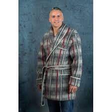 comment faire une robe de chambre robe de chambre et veston unis col tissu personnalisable val d arizes