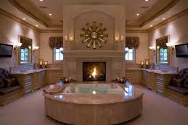 master bathroom ideas with fireplace elegant master bathroom
