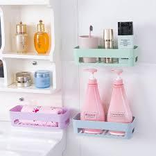 Corner Storage Bathroom Wall Stick Type Bathroom Kitchen Corner Storage Rack Organizer