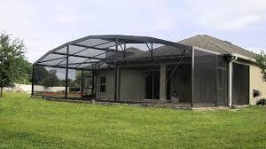 Patio Enclosure Screens Pool Screen Enclosure Styles Orlando And Central Florida