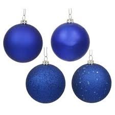 navy blue ornaments wayfair